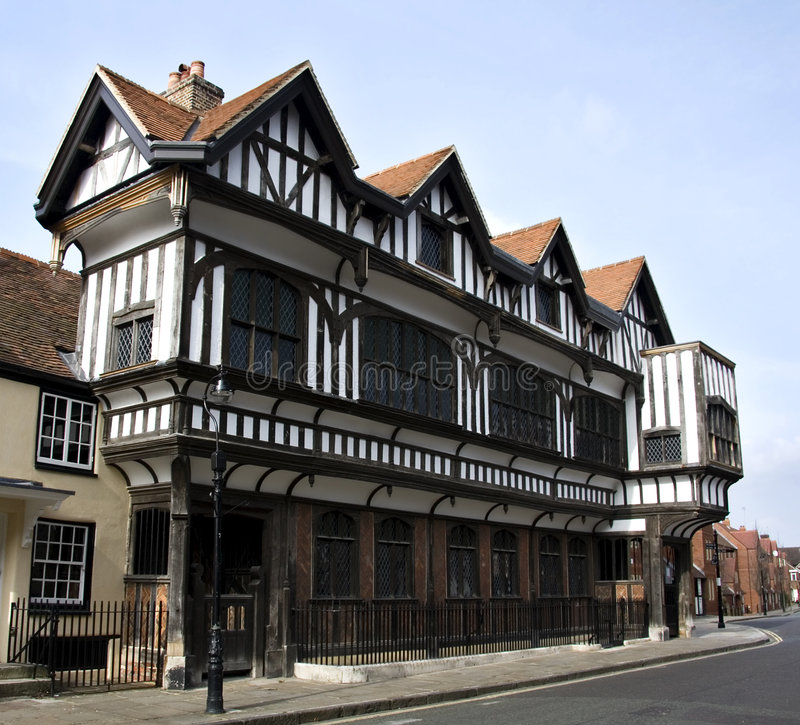 Download Tudor House stock photo. Image of medieval, architecture - 8894780