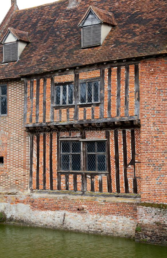 Download Tudor moat house stock photo. Image of 16th, timbers - 18938726