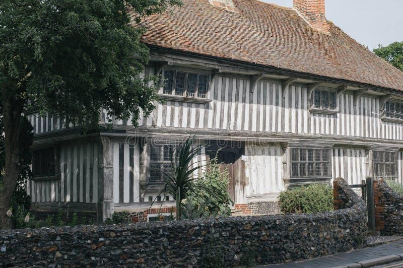 Tudor Museum stockfotos