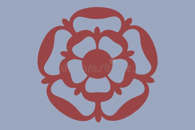 Download Tudor rose stock illustration. Illustration of english - 6675613