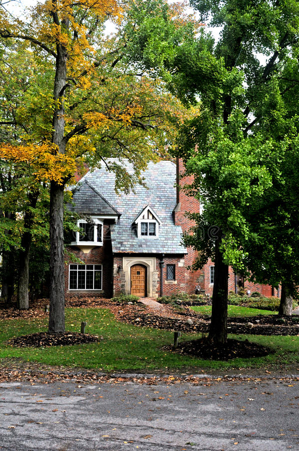 Download Tudor Style Home Stock Photo - Image: 34552700