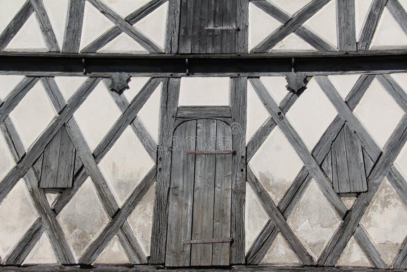 Tudor utformar huset royaltyfri foto