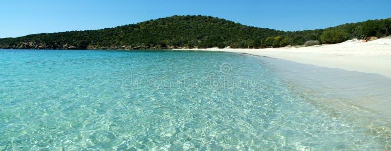Tuerredda Beach royalty free stock photo