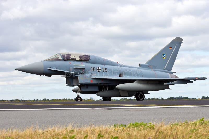 Tufão de Eurofighter foto de stock royalty free