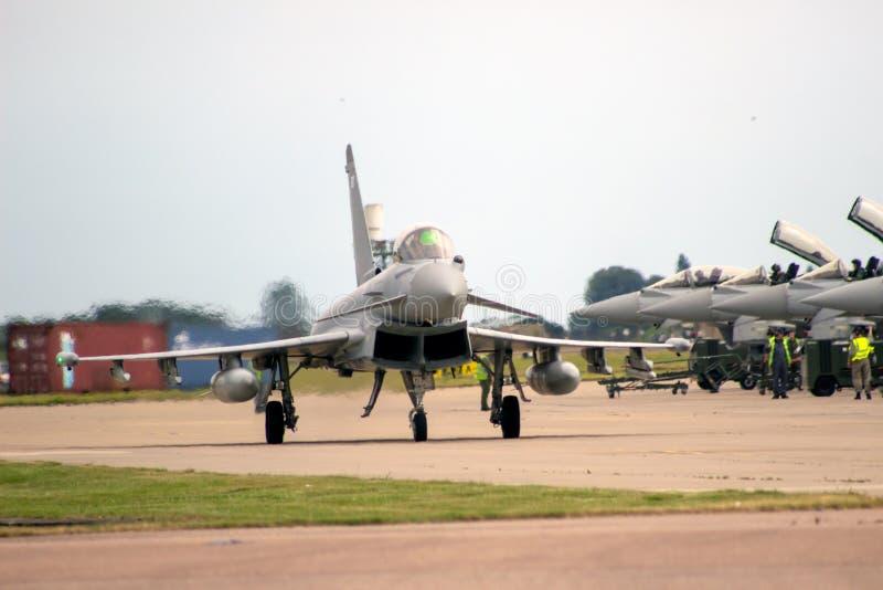 Tuf?o de Eurofighter imagens de stock