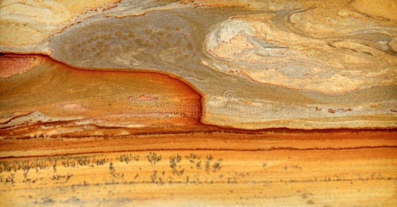Tuff-vulkanisk lava arkivbild