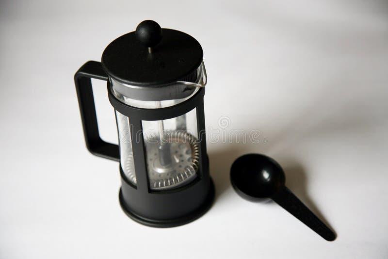 Tuffatore del caffè fotografia stock