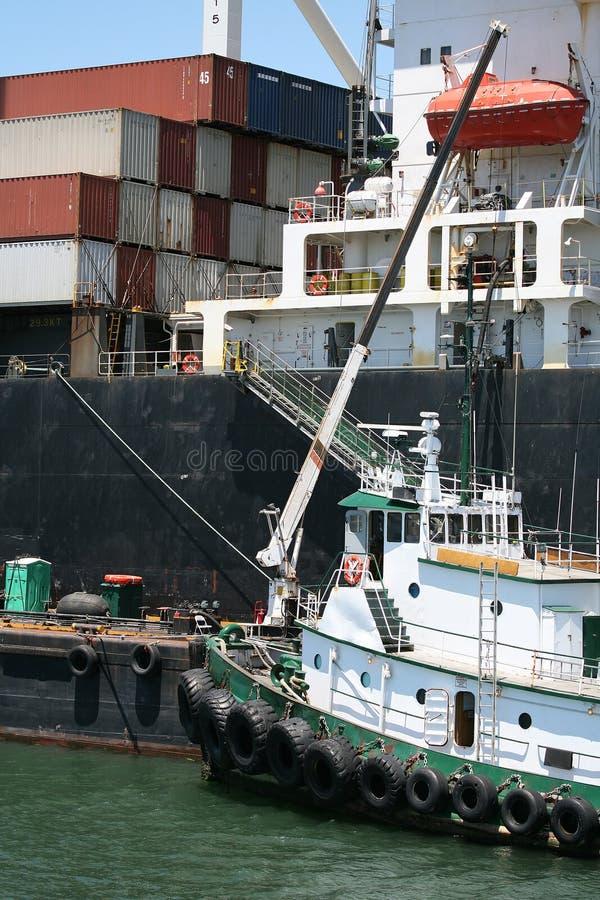 tug łodzi zdjęcie stock