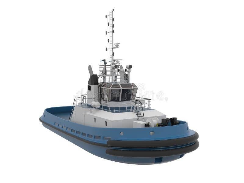 Tug boat. vector illustration