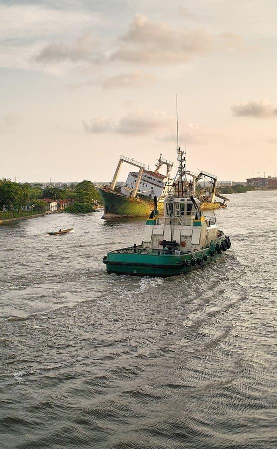 Free Tug Boat Stock Photography - 40401472