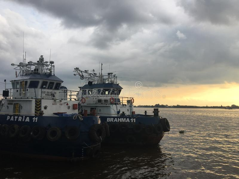 Tug Boat images stock
