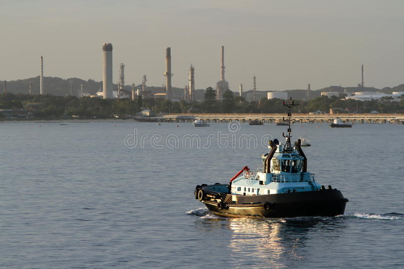 Download Tug boat on the water stock image. Image of boat, vessel - 29135151