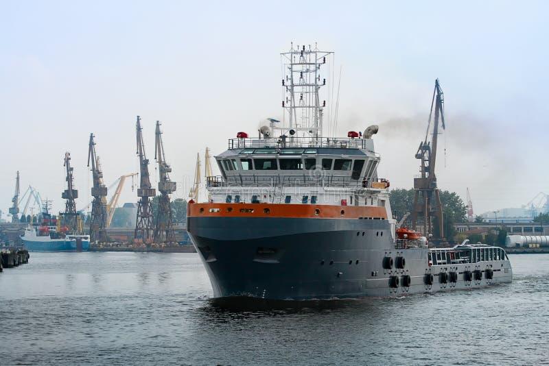 Tug Ship Royalty Free Stock Image