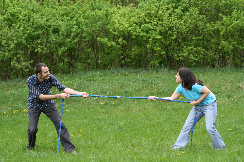 Download Tug-of-war stock photo. Image of leisure, fighting, holiday - 5092168