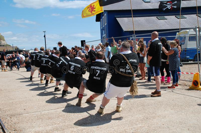 Download Tug of War, Hastings editorial stock photo. Image of competition - 22010713