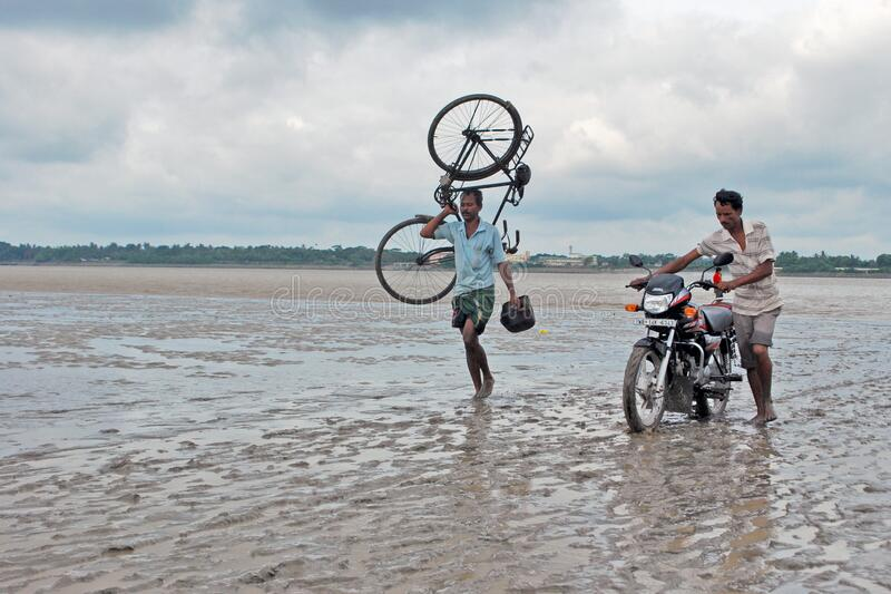 Tug of war. Photo taken at howrah west bengal india