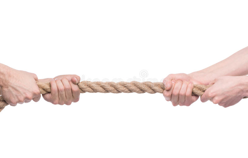 Tug-of-war Stock Photo