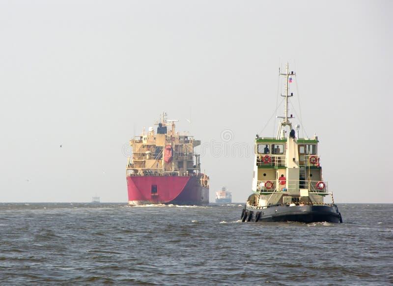 tugboat βυτιοφόρων στοκ φωτογραφία με δικαίωμα ελεύθερης χρήσης