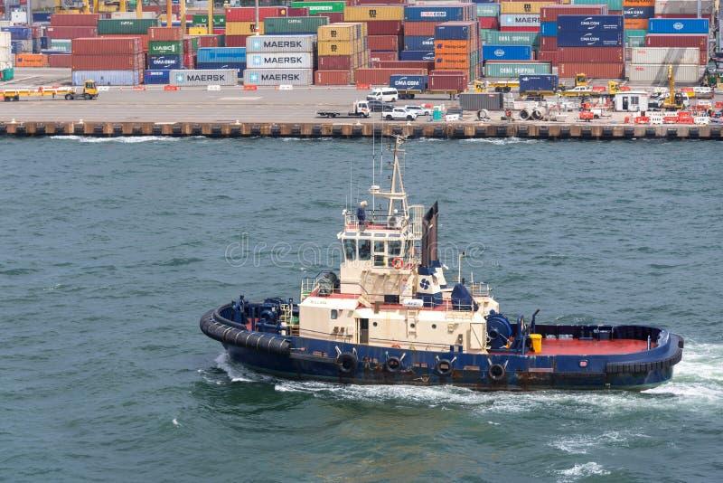 tugboat стоковое изображение rf