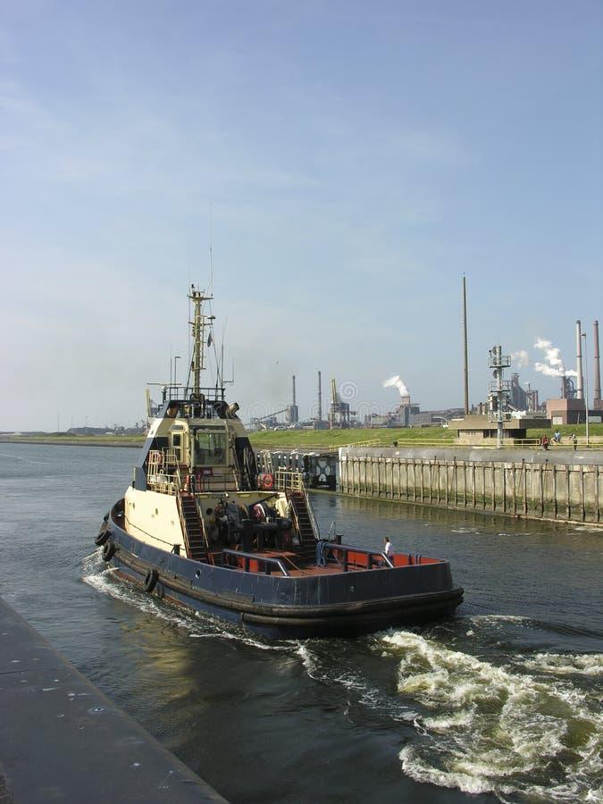Tugboat royalty free stock photos
