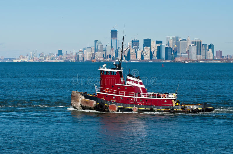 Download Tugboat stock photo. Image of moving, boat, help, york - 23768574