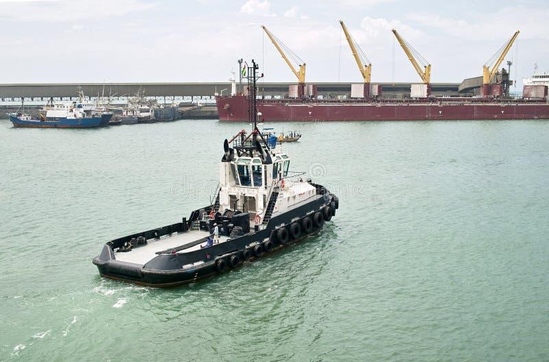 Download Tugboat stock image. Image of africa, port, tugboat, togo - 27806223