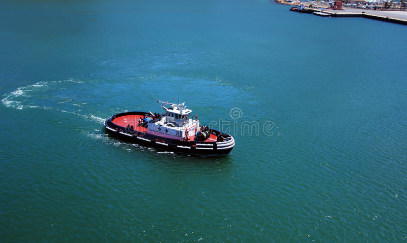 Tugboat royalty free stock photography