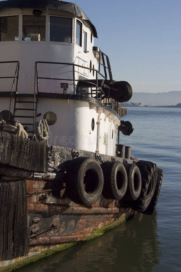 Free Tugboat 3 Stock Photography - 806932
