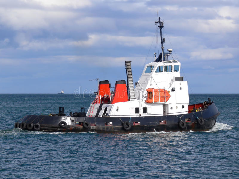 Download Tugboat B1 stock photo. Image of towing, towage, white - 13010808