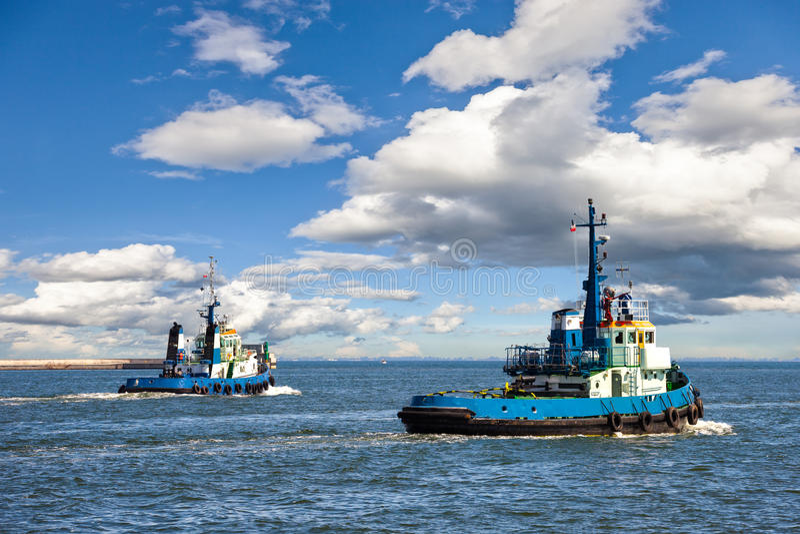 tugboats imagem de stock royalty free