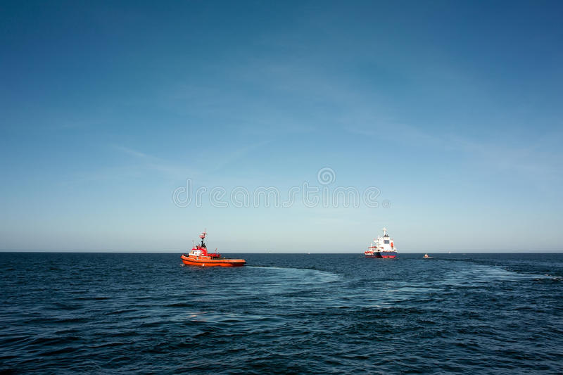 Download Tugs And Vessel. Royalty Free Stock Photo - Image: 22963345