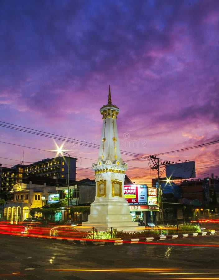 Tugu Jogja στοκ φωτογραφίες με δικαίωμα ελεύθερης χρήσης