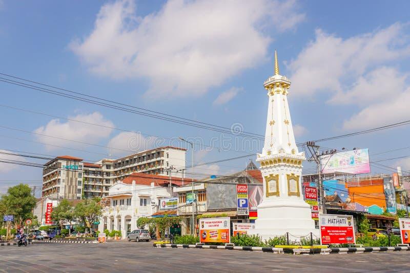 Tugu Jogja photos libres de droits