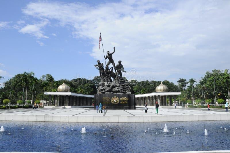 Tugu Negara a K A Monumento nacional en Malasia fotos de archivo