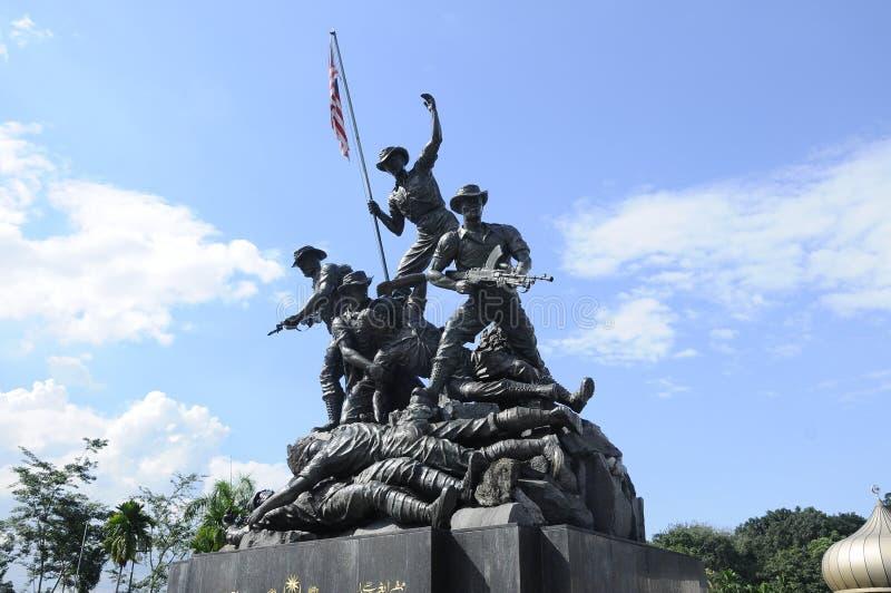 Tugu Negara a K A Monumento nacional en Malasia imagen de archivo