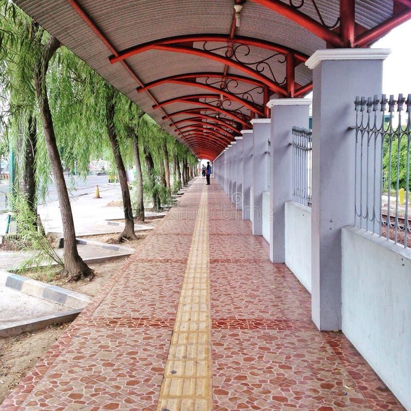 Tugu Yogyakarta stacja kolejowa obrazy royalty free