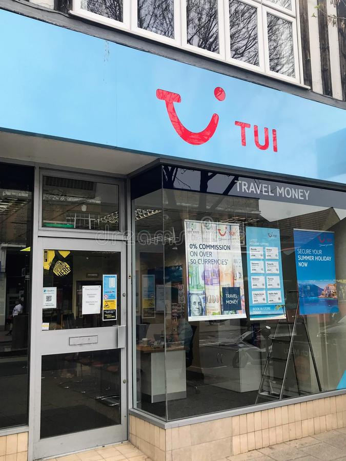 TUI store royalty free stock images
