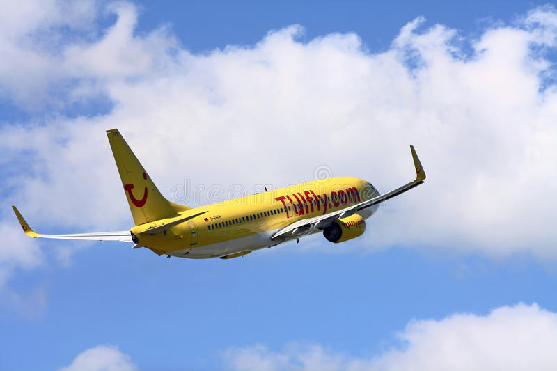 TuiFly Airline royalty free stock photography