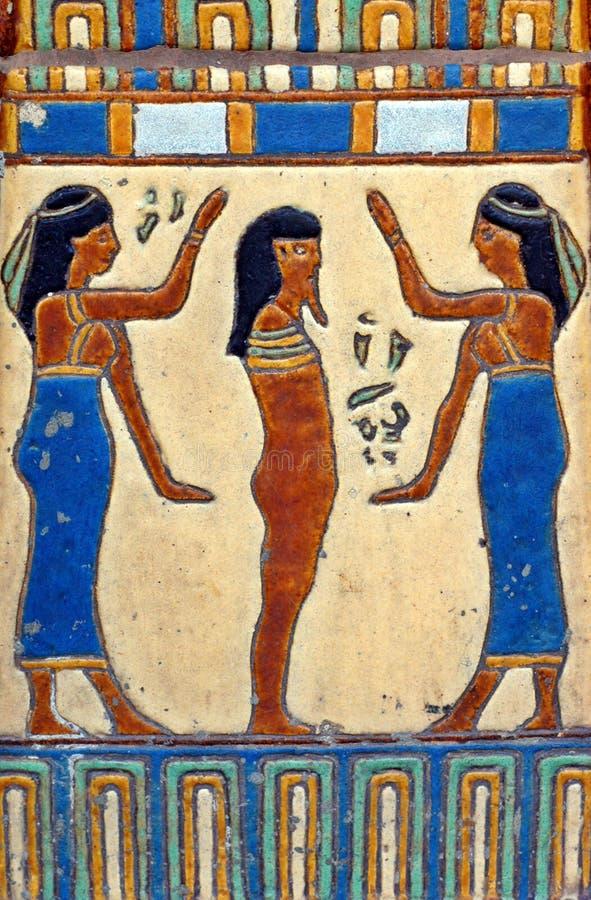 Tuile égyptienne photo libre de droits