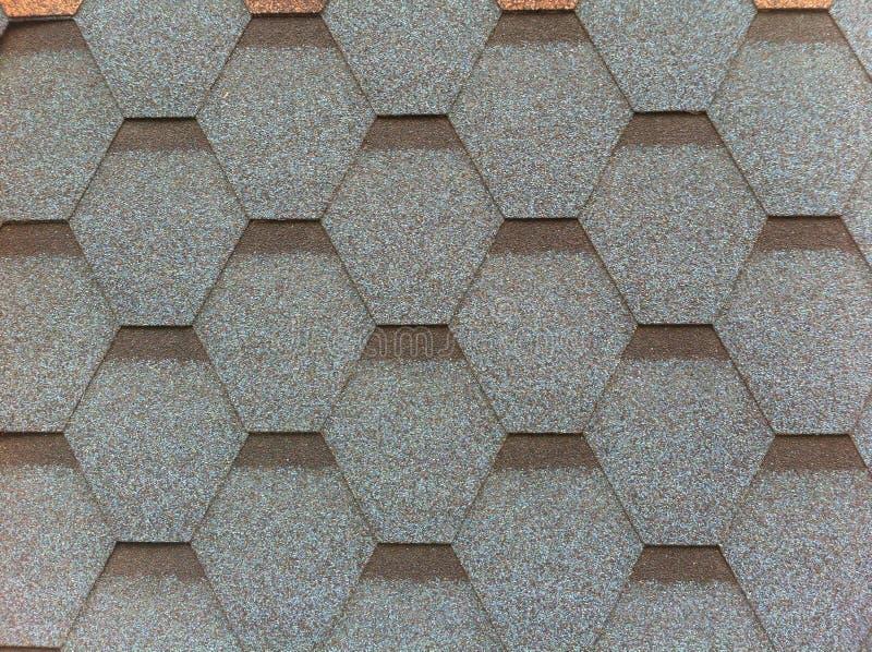 Tuile élastique et flexible Matériau de construction artificiel pour la bâche de toit Géométrique abstrait illustration de vecteur