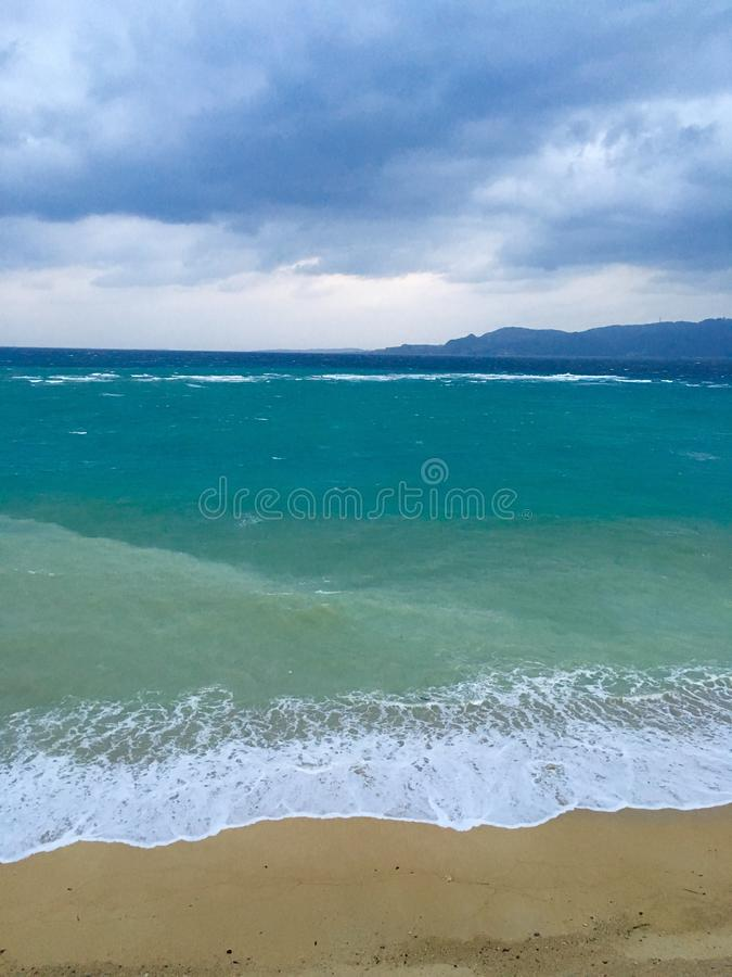Tuile d'océan photographie stock