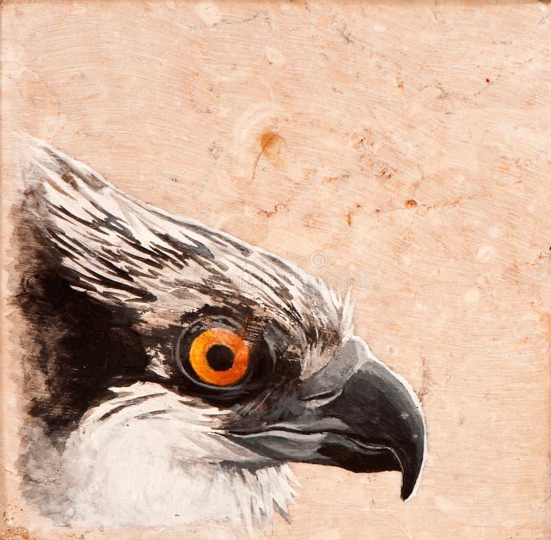 Tuile d'oiseau. illustration de vecteur