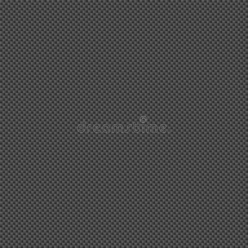 Tuile de Gray Carbon Fiber Seamless Texture de charbon de bois image libre de droits
