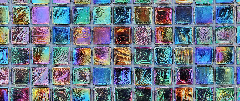 Tuile de mosaïque image libre de droits