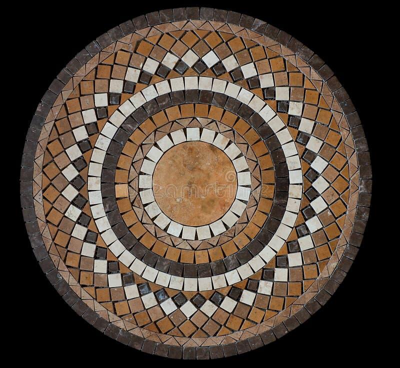 Tuile de mosaïque en céramique photos libres de droits