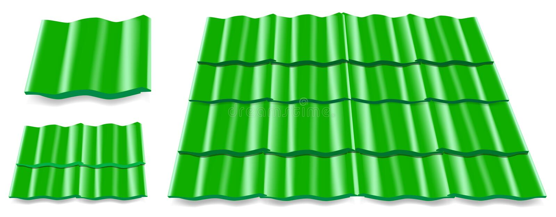 Tuile de toit illustration stock