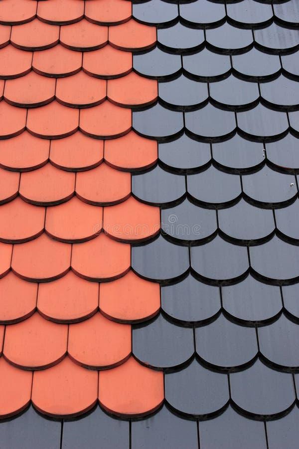 Tuile de toiture photos libres de droits