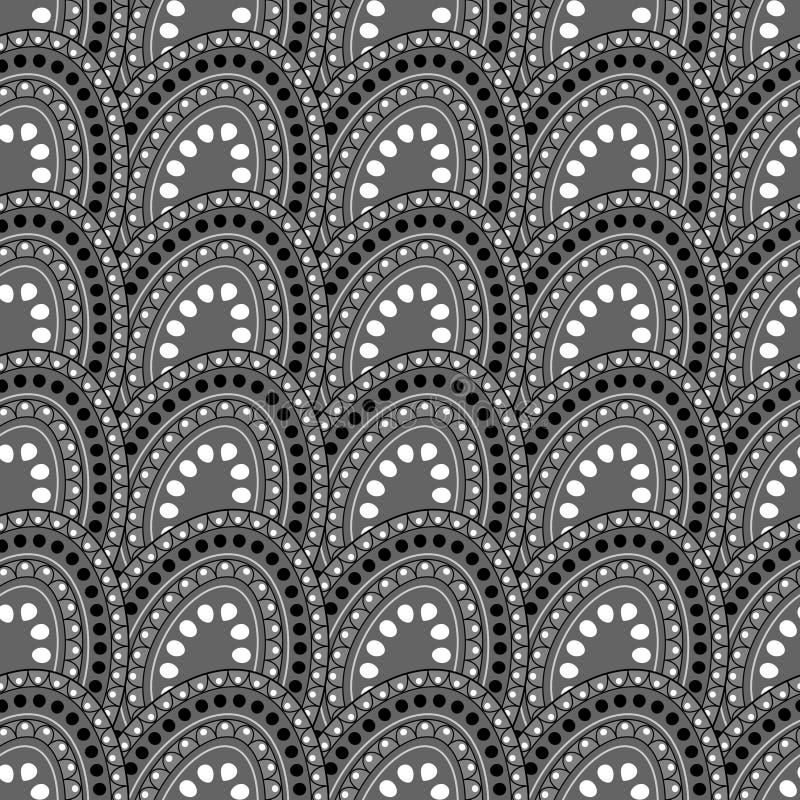 Tuile Dot Pattern illustration stock