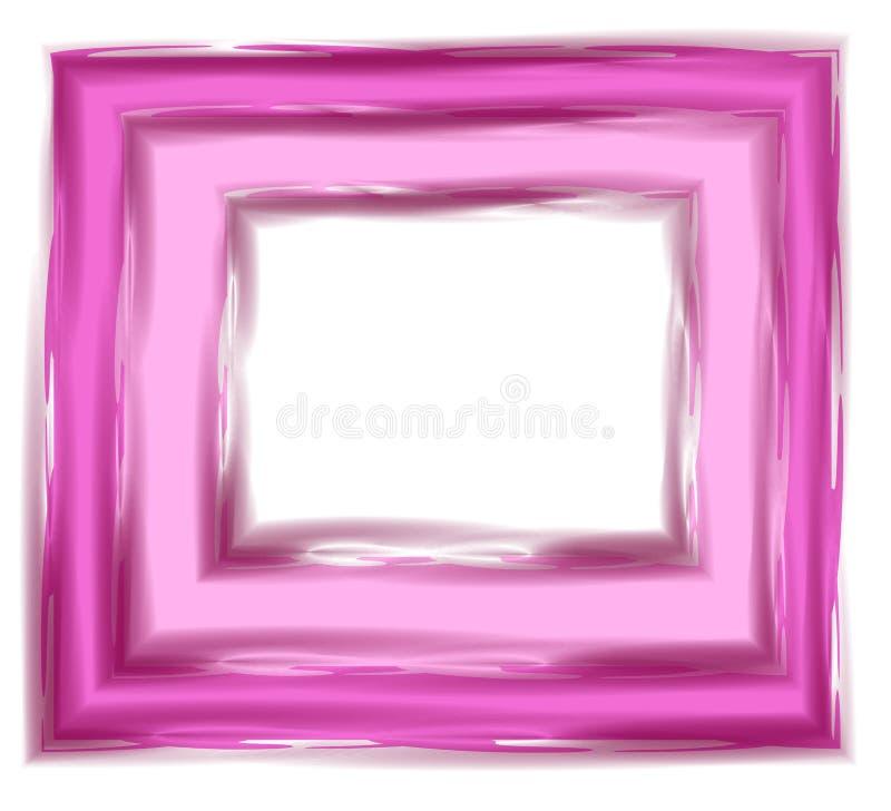 Tuile rose de milieux abstraits illustration de vecteur