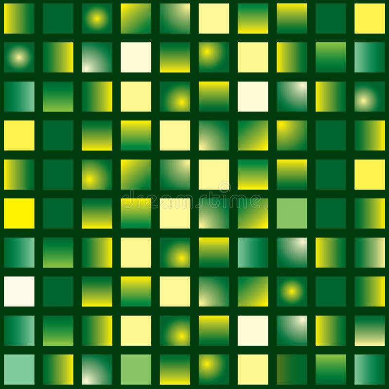 Tuile verte illustration de vecteur